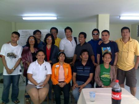 facilitator and participants of the 2011 ATRIEV Strategic Planning Conference
