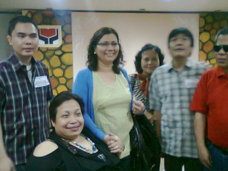 Julius with some of the organizers and attendees of the dialog