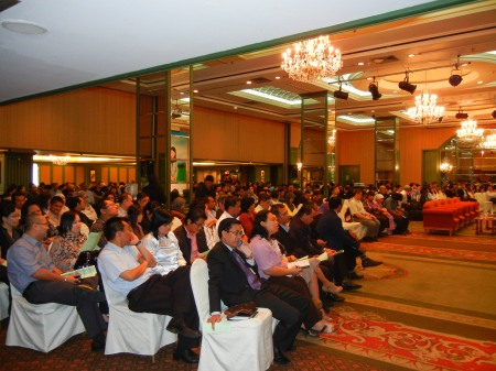 some of the audience in the October 12 accessibility seminar in Kuching, Sarawak, Malaysia